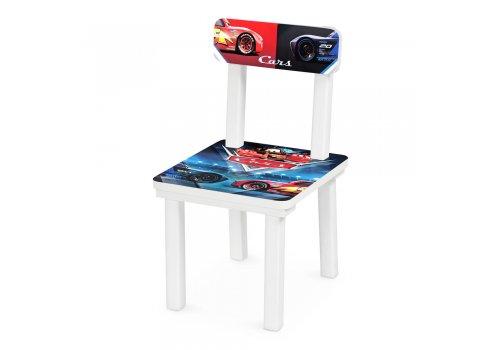 """Детский деревянный столик со стульчиком """"Тачки"""" BSM2K-M06"""