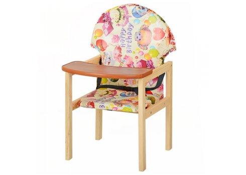 Деревянный стульчик для кормления - трансформер 2в1 М V-002-11