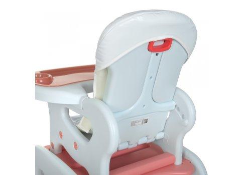 Стульчик для кормления - трансформер BAMBI M 0816 Butterfly розовый