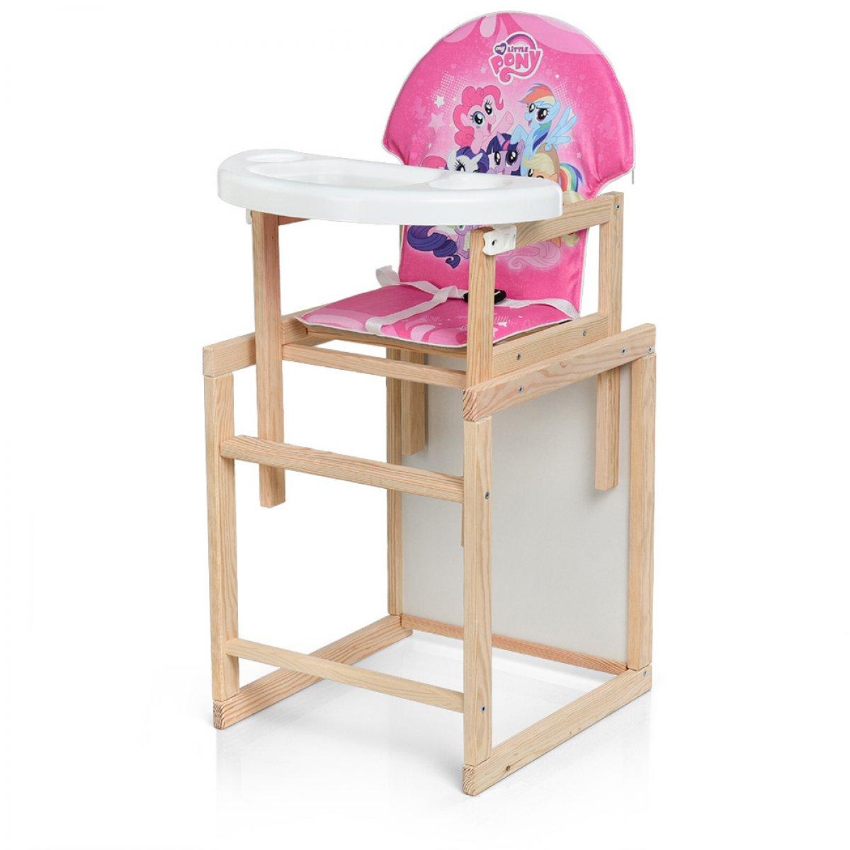 деревянный стульчик для кормления трансформер м K 102 9pu My