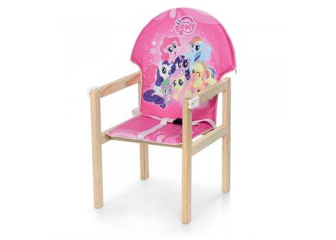 Деревянный стульчик для кормления - трансформер, М K-102-9PU My Little Pony