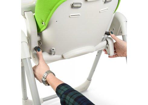Детский стульчик для кормления El Camino Prime ME 1038 Green Apple зеленый