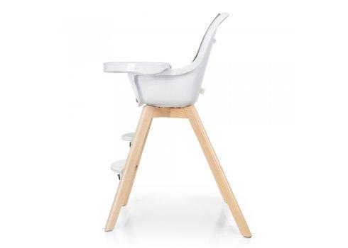 Деревянный стульчик для кормления серия Organic ME 1050 Gray