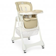 Детский стульчик для кормления EL CAMINO DESSERT ME 1086 Beige бежевый