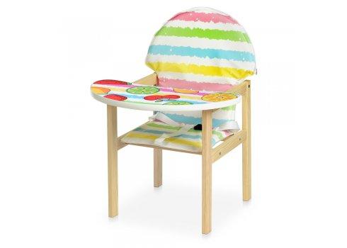 Деревянный стульчик для кормления (трансформер) Фрукты М V-112-79 PU