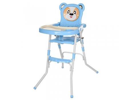 Cтульчик-трансформер 2в1 (для кормления+стульчик), 113-4 синий