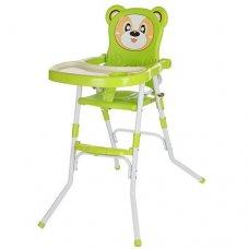 Стульчик-трансформер 2в1 (для кормления+стульчик), 113-5 зеленый