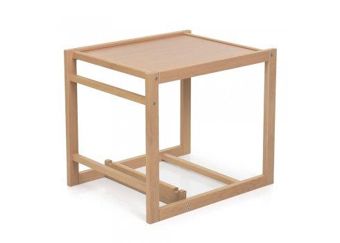 Деревянный стульчик для кормления-трансформер R1 синий