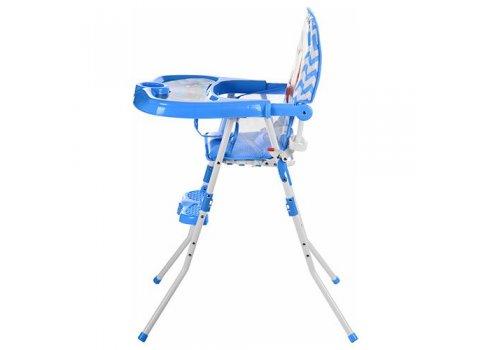 Стульчик-трансформер 2в1 (для кормления+стульчик) GL 217С-212 Лев, голубой