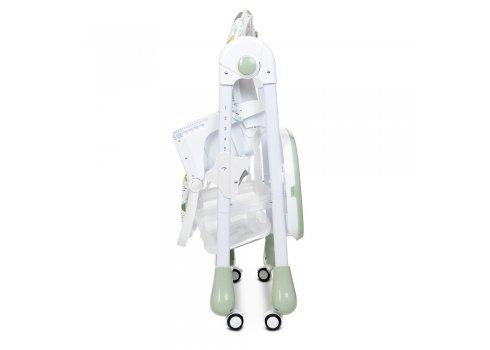 Стульчик для кормления с регулируемой спинкой BAMBI M 3233 DINO PINE GREEN зеленый