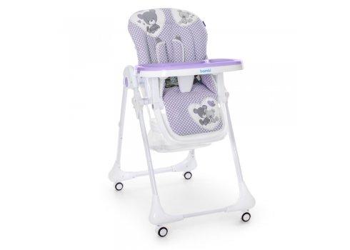 Детский стульчик для кормления M 3233 Teddy Lilac сирень