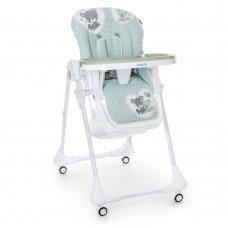 Детский стульчик для кормления M 3233 Teddy Sage Green зеленый