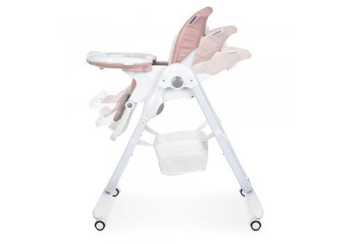 Детский стульчик для кормления на колесиках EL CAMINO M 3236 Rosette розовый