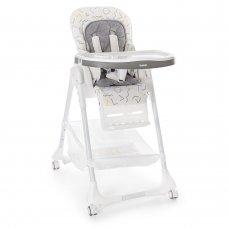 Детский стульчик для кормления Bambi, M 3822-2 серый