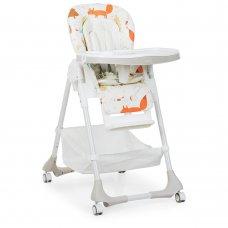 Детский стульчик для кормления Животные Bambi M 3822-4 бежевый