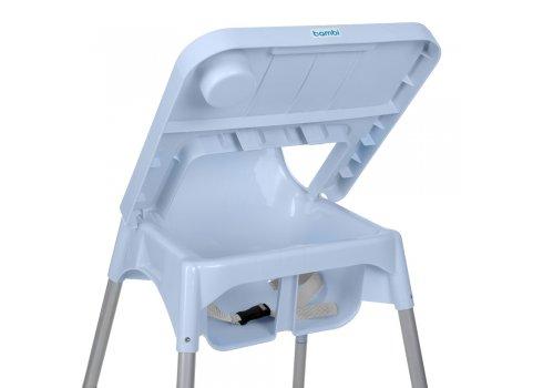 Стульчик для кормления из пластика Bambi M 4209 Gray серый