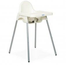 Стульчик для кормления из пластика Bambi M 4209 White белый