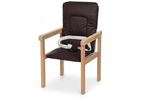 Деревянный стульчик для кормления-трансформер R4 кофейный