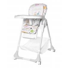 Высокий стульчик для кормления с регулируемой спинкой, Tilly Bistro T-641/2 Grey