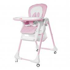 Стульчик для кормления с регулируемой спинкой Carrello Toffee CRL-9502/2 Candy Pink