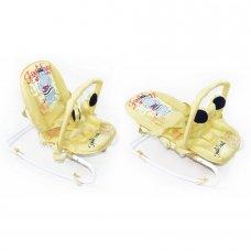Детский шезлонг-качалка с регулируемой спинкой, BT-BB-0001 BEIGE