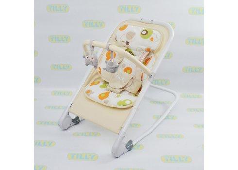 Детский шезлонг-качалка на алюминиевой раме, BT-BB-0005 BEIGE