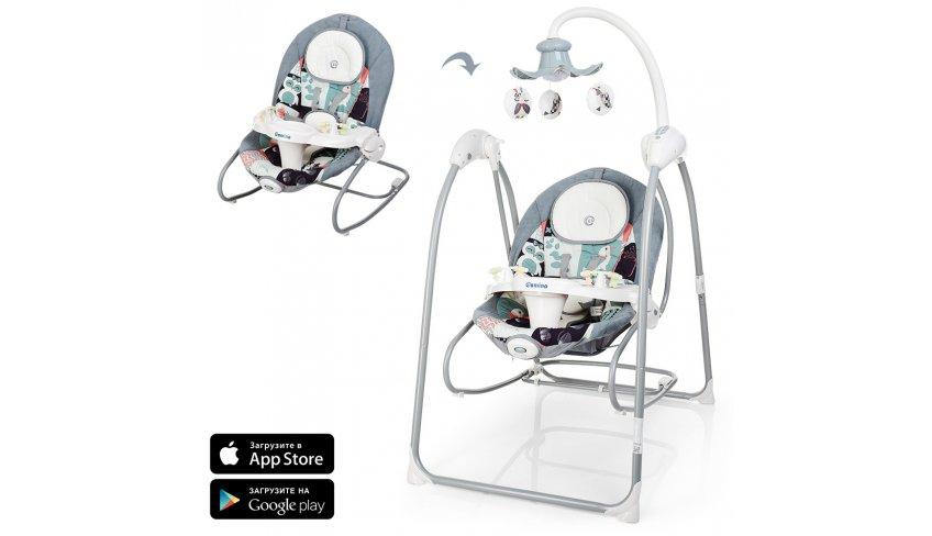 Как установить мобильное приложение для детских электрокачелей El Camino ME 1020
