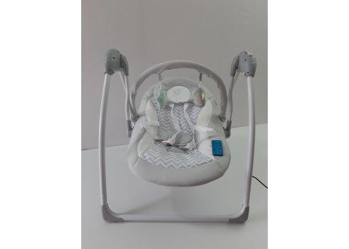 Детский укачивающий центр (напольные качели) от рождения, El Camino Airy ME 1047 Gray