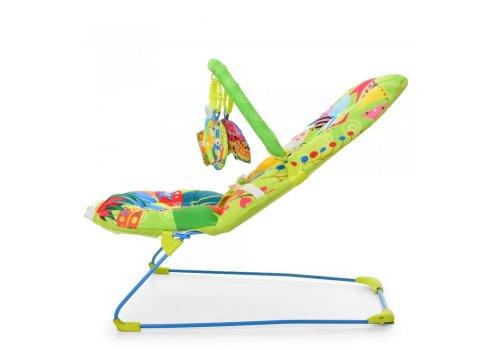 Детский шезлонг качалка Bambi 303-5 зеленый