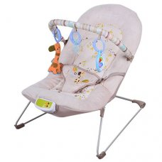 Шезлонг детский Bambi 30608-1, бежевый