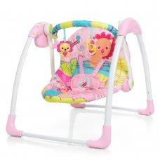 Детский укачивающий центр Mastela 6519 розовый