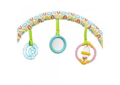Детский шезлонг-баунсер с регулируемой спинкой Mastela 6875