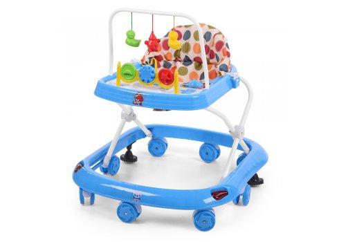 Детские ходунки с игровыми подвесками, M 0541C-1 голубой