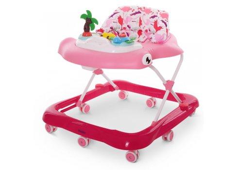 Ходунки детские с музыкальной панелью EL CAMINO SHARK ME 1052 Pink розовый