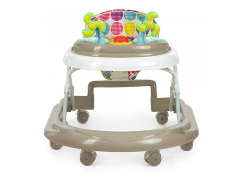 Детские ходунки-каталка с игровой панелью EL CAMINO DOLPHIN ME 1056 Beige бежевый