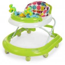 Детские ходунки-каталка с игровой панелью EL CAMINO DOLPHIN ME 1056 Green салатовый
