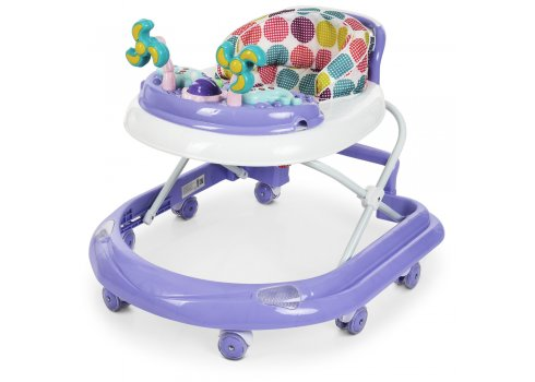 Детские ходунки-каталка с игровой панелью EL CAMINO DOLPHIN ME 1056 Violet сиреневый