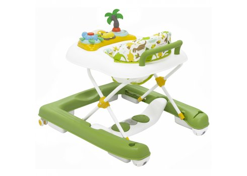Детские ходунки 3 в 1 Carrello Rapido CRL-12701 Green
