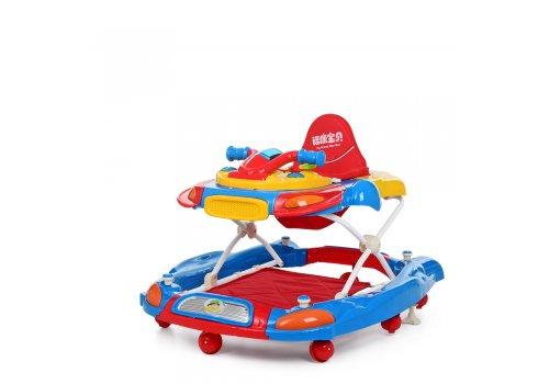 Детские музыкальные ходунки 3в1 Bambi M 3461-1 синий