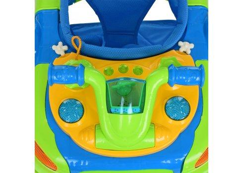 Детские музыкальные ходунки 3в1 Bambi M 3461-2 зеленый