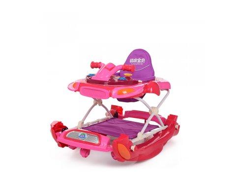 Детские музыкальные ходунки 3в1 Bambi M 3461-3 фиолетовый