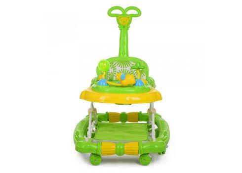 Детские музыкальные ходунки 3в1 Bambi M 3848-2 зеленый