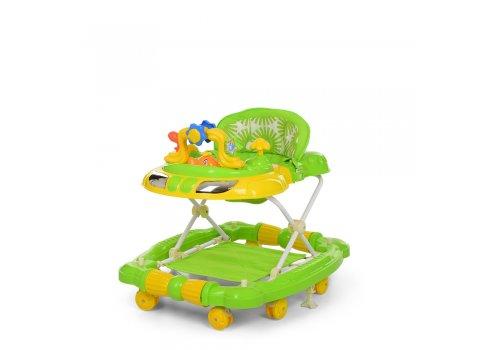 Детские музыкальные ходунки 3в1 Bambi M 3849-2 салатовый