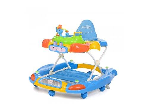 Детские ходунки 3в1 Bambi M 4021-1 голубой