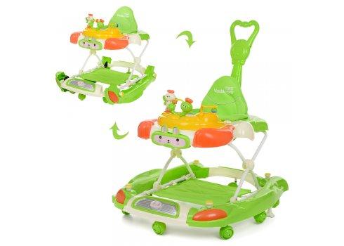 Детские ходунки 3в1 Bambi M 4021-2 зеленый