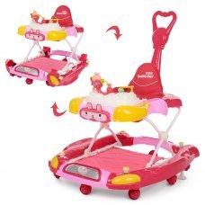 Детские ходунки 3в1 Bambi M 4021-4 красный
