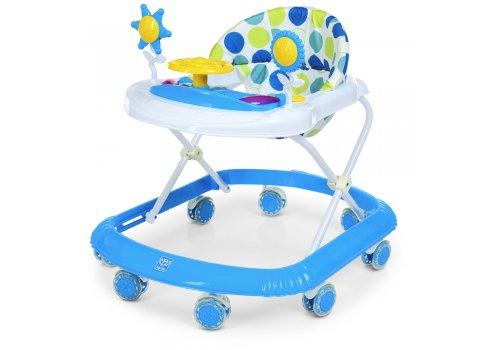 Детские музыкальные ходунки со световыми эффектами Bambi M 4167-4 голубой