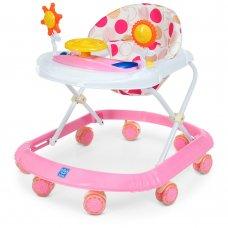 Детские музыкальные ходунки со световыми эффектами Bambi M 4167-8 розовый