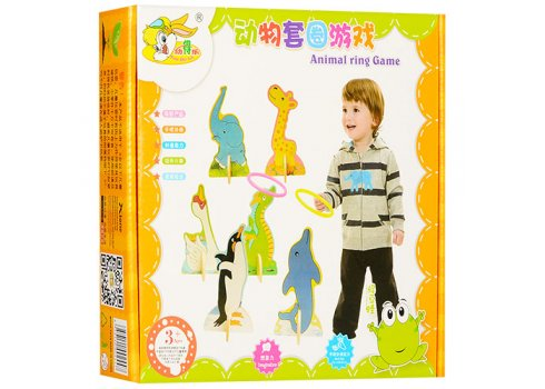 Деревянная развивающая игрушка Кольцеброс MD 1007