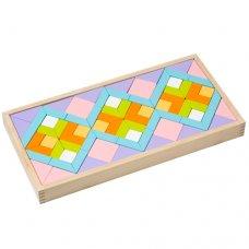 Детская деревянная мозайка CUBIKA Орнамента LR-1
